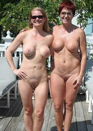 Enormous globes mature nudists outdoor and in public at..